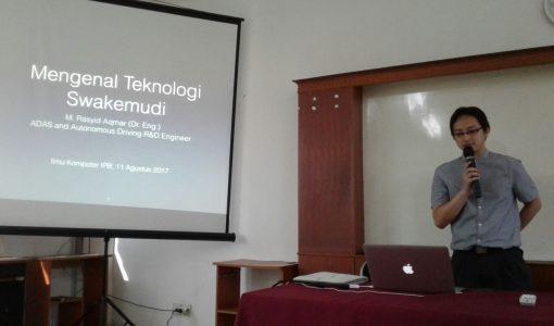 Kuliah Umum Lab CIO: Mengenal Teknologi Swakemudi