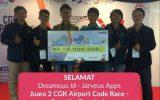 Mahasiswa IPB Meraih Juara 2 di CGK Airport Code Race – PT Angkasa Pura 2