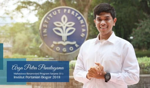 Arga Putra Panatagama, Mahasiswa Berprestasi Program Sarjana IPB 2018