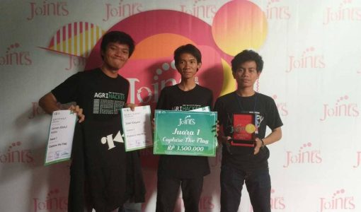 Komunitas Cyber Security IPB Merajai Kompetisi Keamanan Jaringan (Capture the Flag) di Yogyakarta