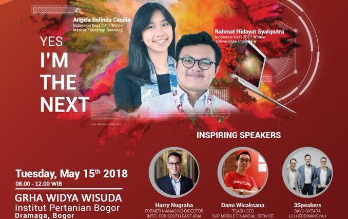 IndonesiaNEXT dan IPB Lead 2018