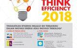 Think Efficiency 2018 Berhadiah 150 juta dan Perjalanan ke Shanghai