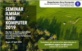 Call for Paper: Seminar Ilmiah Ilmu Komputer 2019